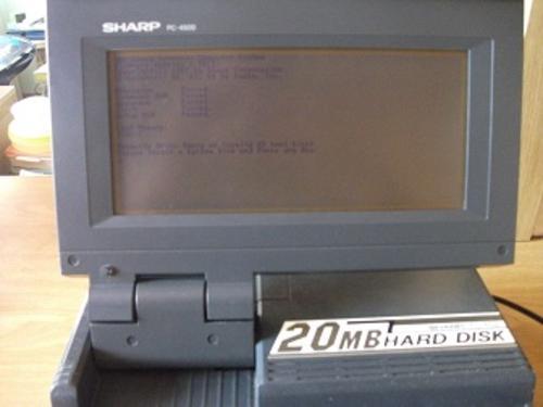 Sharp pc 4500