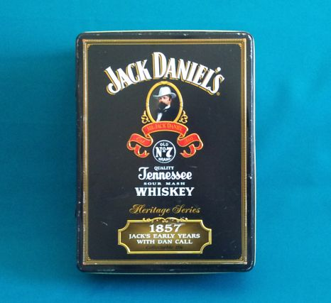 bar accessories jack daniel 39 s heritage series collectable tin was sold for on 15 mar. Black Bedroom Furniture Sets. Home Design Ideas