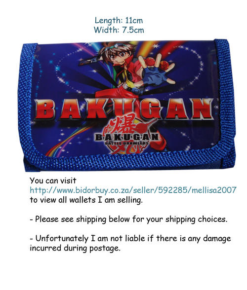 Disney Bakugan Wallet
