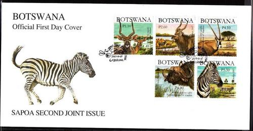 Botswana FDC  SAPOA 2nd JOINT ISSUE