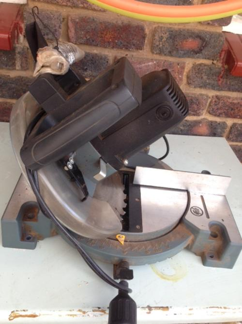 Woodworking - Powaforce mitre saw was listed for R850.00 ...