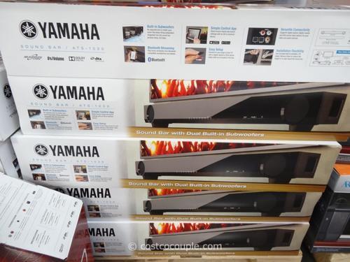 Speakers yamaha ats1030 wireless soundbar w built in for Yamaha ats 1030 soundbar review