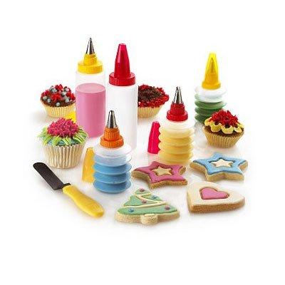 Cake Decorating Set : Cake Decorating - 11 Piece Baking Cupcake Cookie Cake ...