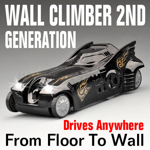 2nd Generation WALL CLIMBING R/C CAR