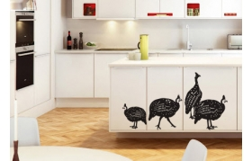 wall;art;decor;vinyl;stickers;africa;birds