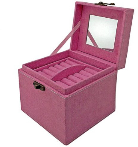 Wedding Gift Boxes Johannesburg : Jewellery Boxes - 3 level jewellery storage box gift - red, black and ...