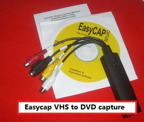 Capture videos from Spycam/VHS/DV Camcorders/TV!