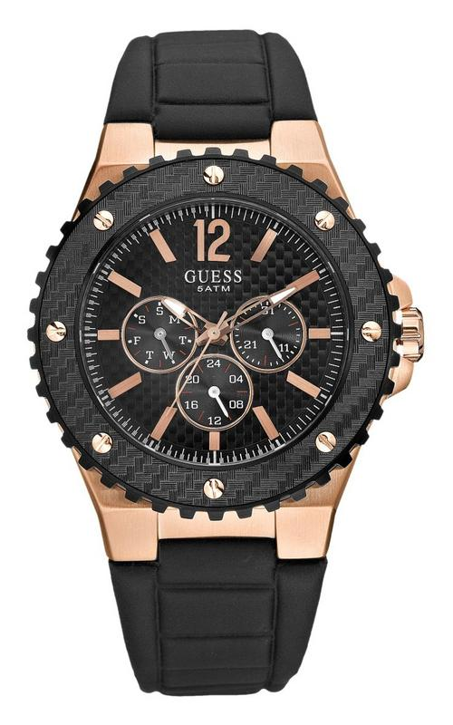 s watches brand new guess sport gents black