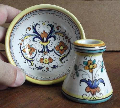 Other Porcelain Amp Ceramics Small Bowl Amp Vase Duo From