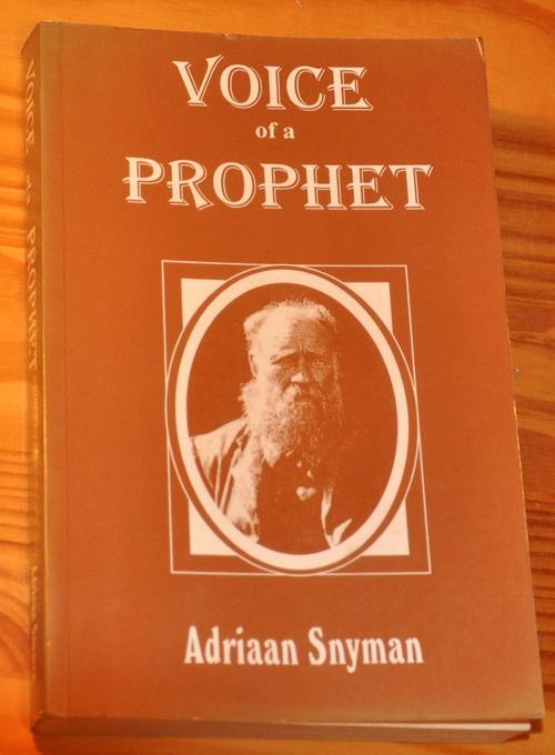 voice of a prophet adriaan snyman pdf