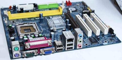 Gigabyte ga-k8vm800m-rh rev:20 socket754 amd motherboard +cpu 3000+, 512mb, i/o