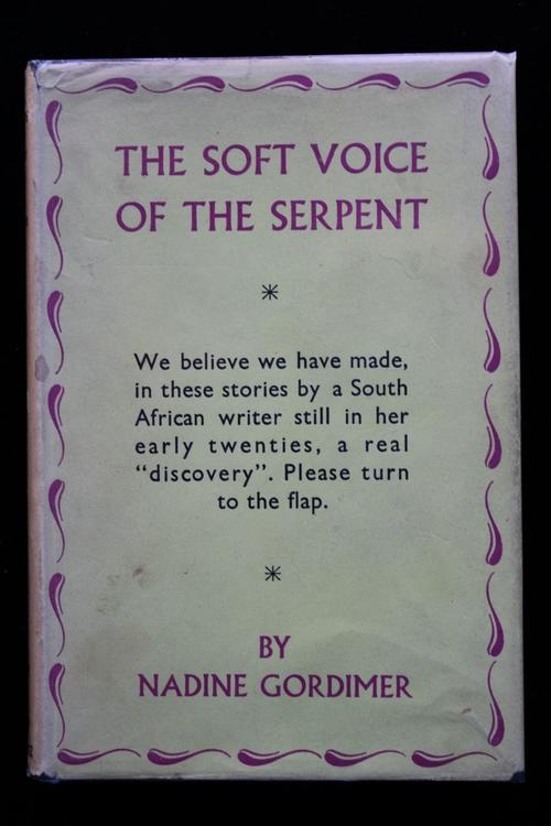 soft voice of the serpent The soft voice of the serpent powerpoint presentation, ppt - docslides- by nadine  gordimer about the writer nadine  gordimer was born  on  november 20, 1923 into.