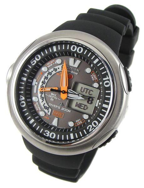 citizen aqualand eco drive 20th anniversary dive watch manual