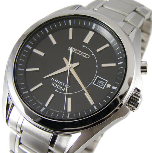 harga jam seiko kinetik on SEIKO KINETIC Power 100m Date with Power Reserve Indicator! No More ...