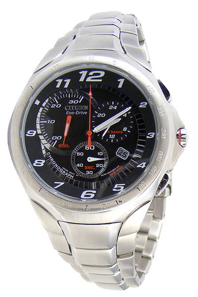 Other Watches Citizen Eco Drive Dual Timetachy Racer