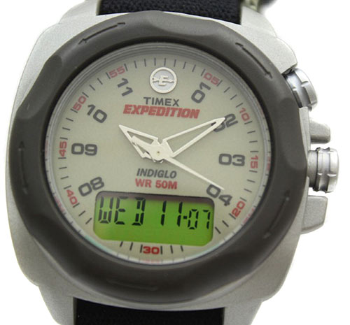 Фирма часов timex expedition indiglo
