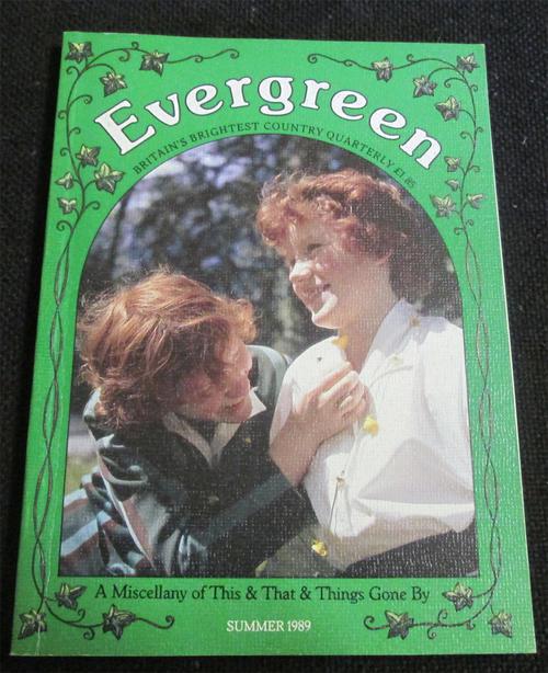 Magazines evergreen quarterly magazine summer 1989 was for Evergreen magazine