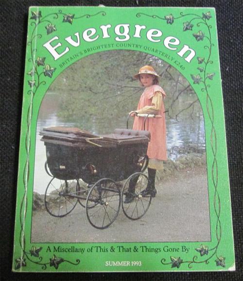 Magazines evergreen quarterly magazine summer 1993 was for Evergreen magazine