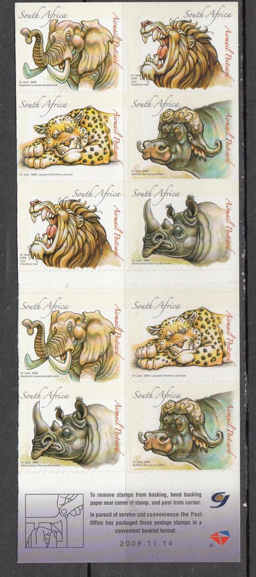 """(原创)南非的""""五霸""""邮票 - 六一儿童 - 译海拾蚌"""