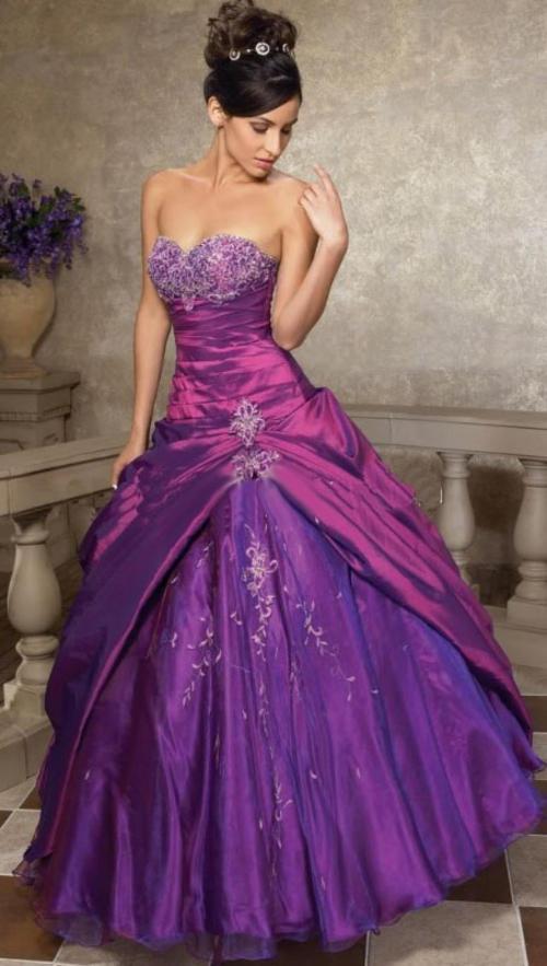 Formal Dresses Purple Evening Party Matric Bridesmaid Formal