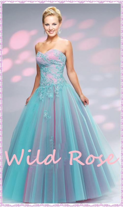 Sale pink amp blue matric farewell evening party matric formal dress