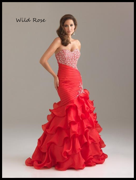 Formal Dresses Red Gorgeous Evening Ball Party Matric Dance