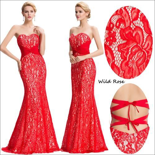 *STYLE COLLECTION* SEXY RED LACE Formal