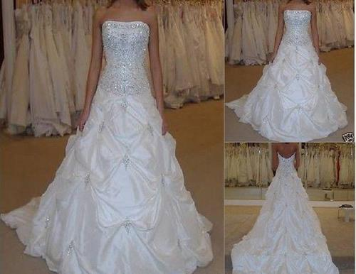 bridal hot sale resale jhb stock size 10 white wedding gown dress