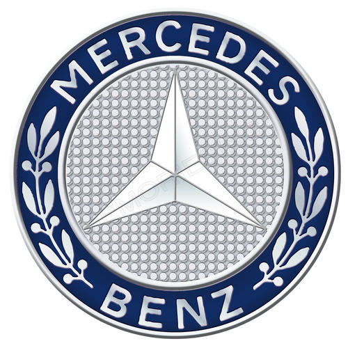 Signage mercedes benz round classic metal sign was for Mercedes benz sign in