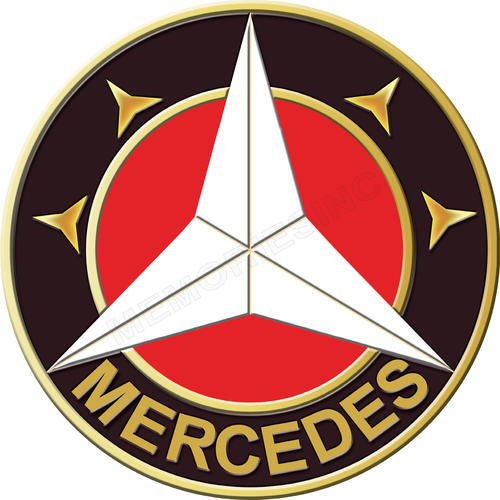 Signage mercedes benz round classic metal sign was for Mercedes benz sign for sale