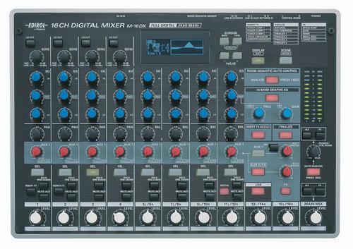 computer audio edirol roland m16dx usb music mixer pc controller production studio with. Black Bedroom Furniture Sets. Home Design Ideas