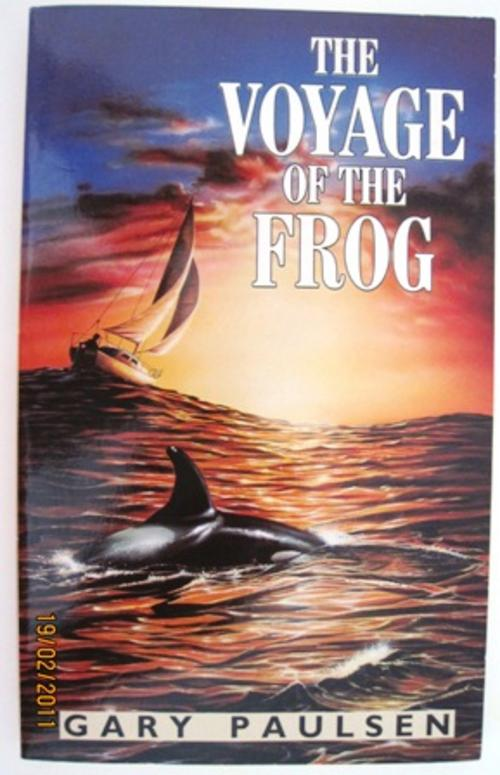Fiction - The Voyage of the Frog, by Gary Paulsen was sold for R10 ...