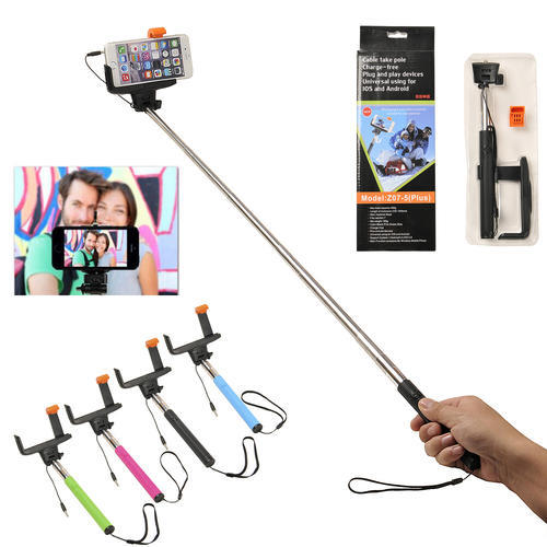 other accessories selfie stick with built in bluetooth for smart phones and. Black Bedroom Furniture Sets. Home Design Ideas