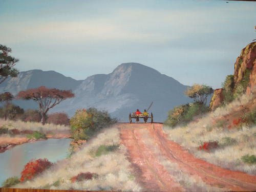 paintings wp grobler original northern transvaal