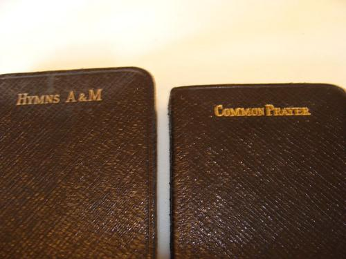 Holy Bible Hymns A & M and Common Prayer Books