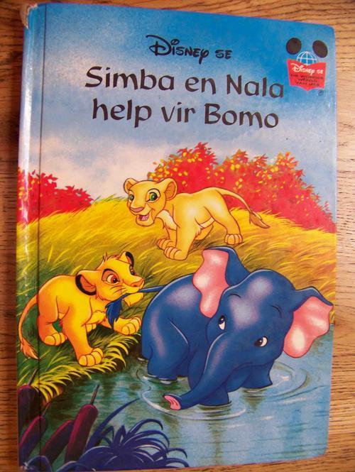 Pragtige disney afrikaanse storieboeke: tarzan, mulan ens