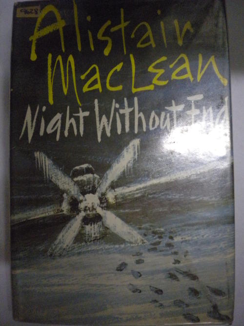 SIGNED: ALISTAIR MACLEAN - Bear Island - 1971-1st Ed - Thriller/Fiction Novel