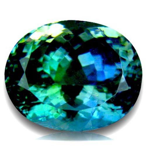 tanzanites 8 47ct tanzanite g i s a certified