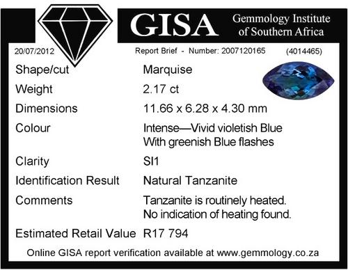 TANZANITE TANZANITE TANZANITE