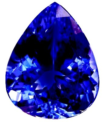 TANZANITE VIVID EXCEPTIONAL CERTIFIED TANZANITE
