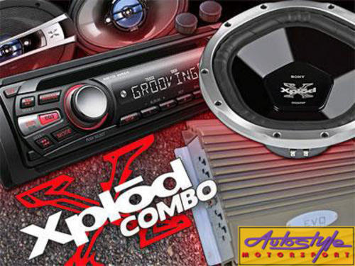 The Autostyle Sony Xplod Combo   Includes: 1 x Sony Xplode CDX-GT280 Cd Mp3 Front Loader 1 x Sony Xplod 12