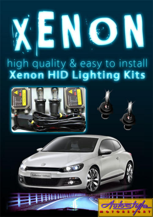 XENON H.I.D (High intensity discharge) headlite globe kits with wiring, ballast and most important swop out if any hassles. as well as showroom open 7 days to assist