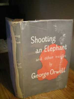 Shooting an elephant and other essays 1950