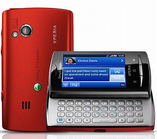 Sony Ericsson Sony Ericsson Xperia X10 Mini Pro U20 Red border=