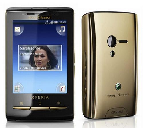 sony ericsson xperia x10 mini gold specifications. The Xperia X10 mini has a