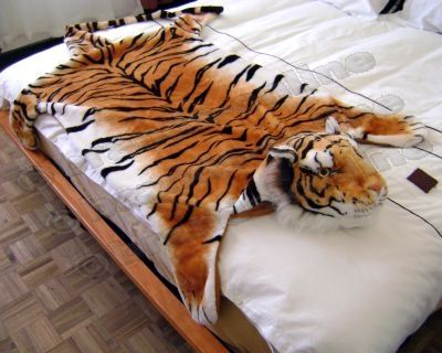 Other Home Amp Living New Quot Tiger Quot Mat Rug Throw