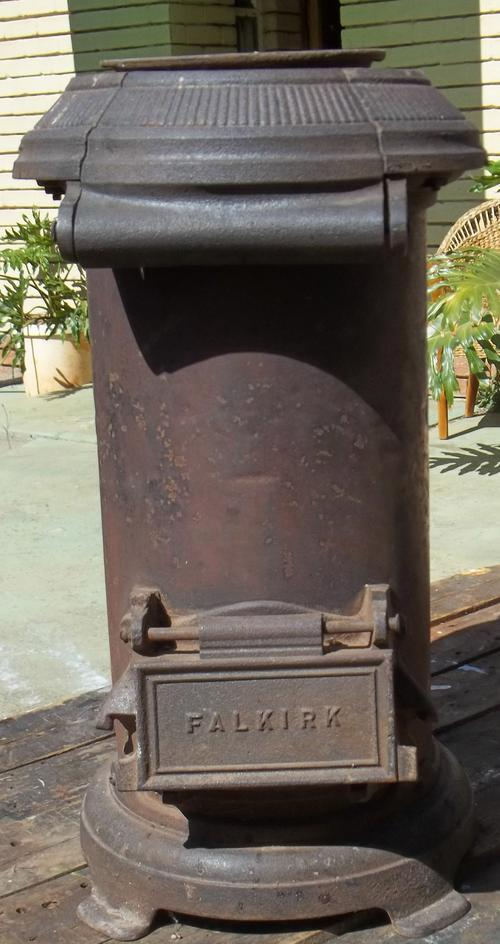 Other Furniture Vintage Falkirk Cast Iron Coal Stove Was
