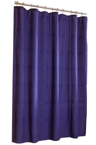 Shower Curtains Deluxe Shower Curtain Navy Blue Was