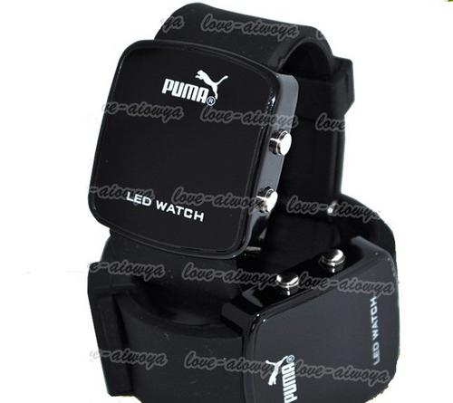 mens watches hot modern puma led mens sports wrist