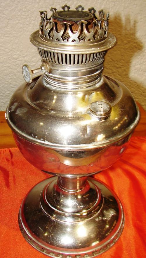 lamps lanterns antique miller s vestal kerosene lamp made in usa. Black Bedroom Furniture Sets. Home Design Ideas